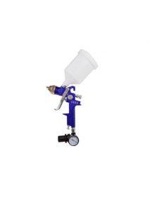 Festékszóró pisztoly nyomásszabályozóval