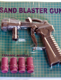 Homokfúvó pisztoly