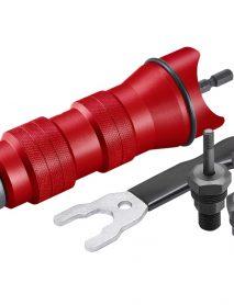 Szegecsanyahúzó adapter készlet fúrógéphez