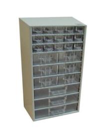 Tároló doboz 24 fiókos