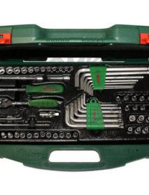 Dugókulcs + hajlított csavarkulcs készlet kofferben