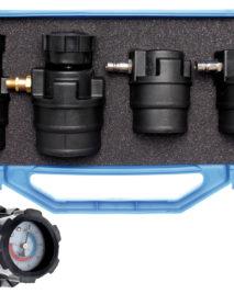 Turbófeltöltő tesztelő készlet mérőórával