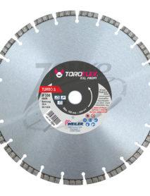 Turbo laser gyémánttárcsa